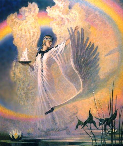 Богиня лета у славян