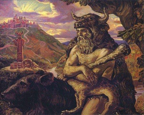 Велес сын коровы Земун
