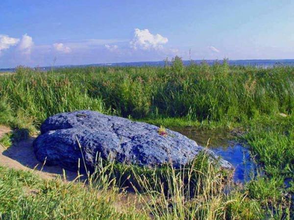 плещеево синь камень
