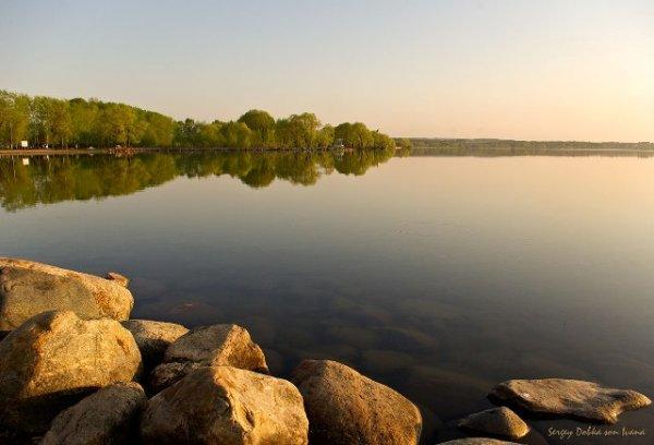 Плещеево озеро. Синь Камень