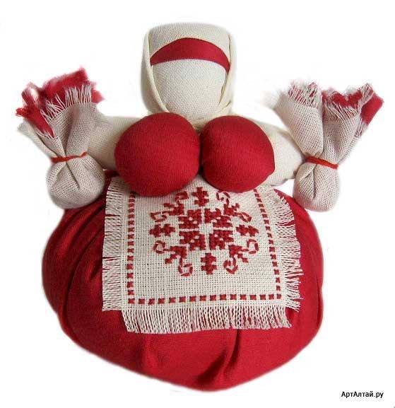 кукла оберег кубышка травница