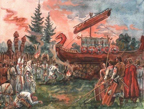 Похоронные обряды на Руси