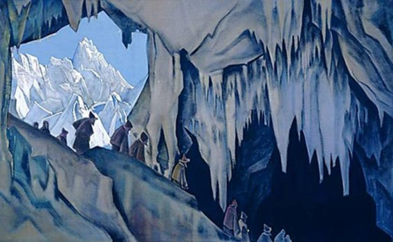 Н.К. Рерих. Чудь подземная. 1928-1930