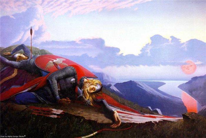 Константин Васильев картина Легенда о рождении Дуная
