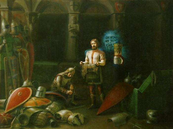 Панасенко Сергей Петрович (Михалкин) картины художника-славяниста