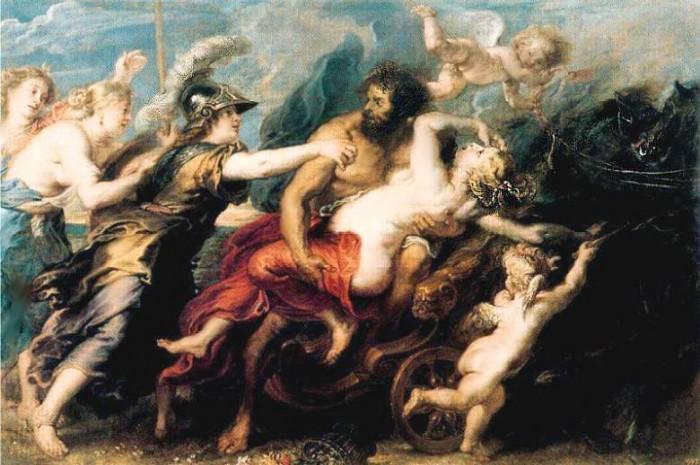 Похищение Прозерпины богом Плутоном