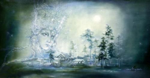 Милена Сочилина картины