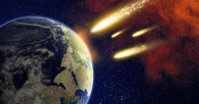 Падение астероидов