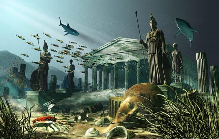 Затонувшая Атлантида