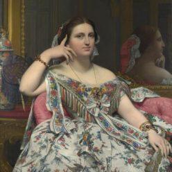 Портрет мадам Инес Муатесье