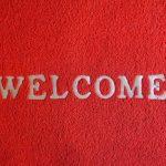Коврик Welcome фото
