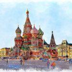 Москва картинка